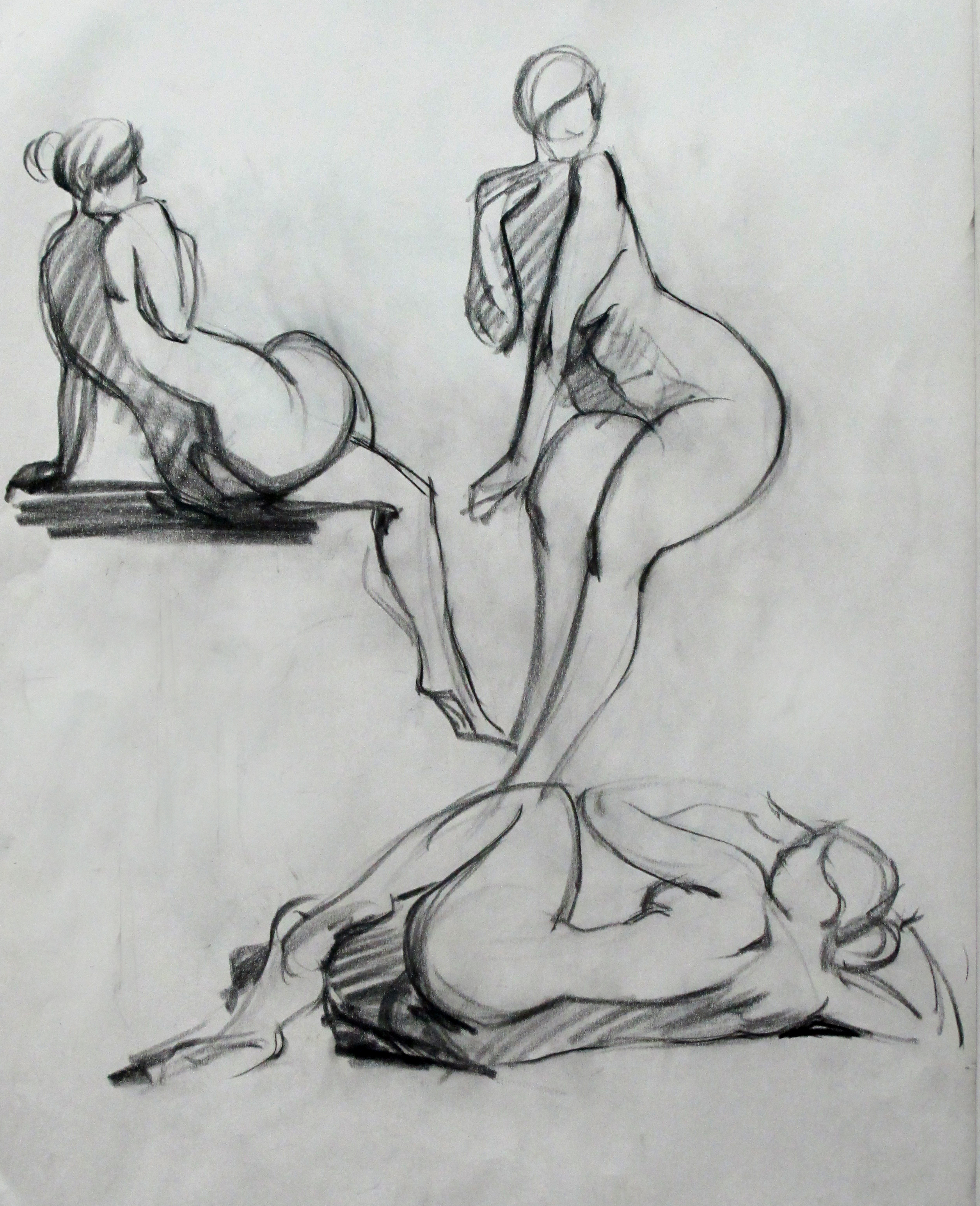 Drawing: Quick Sketch Figure Drawing